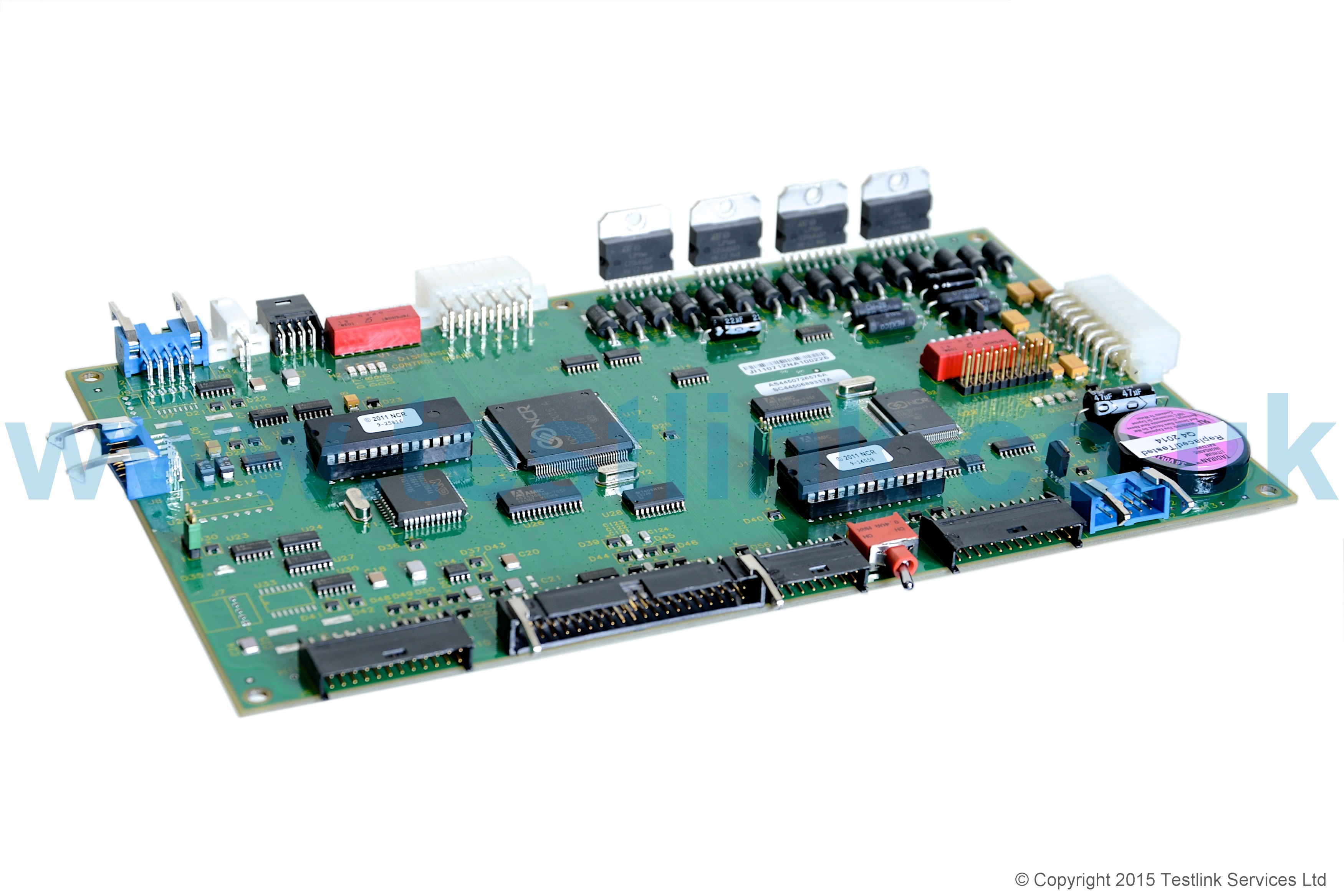 4450726576 Ncr Pcb Dispenser Control Enhanced 4g Nts Only Printed Circuit Card Board No Image Available