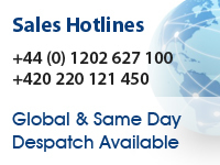 UK Sales Hotline +44 (0) 1202 627100  CZ Sales Hotline +420 220 121 450